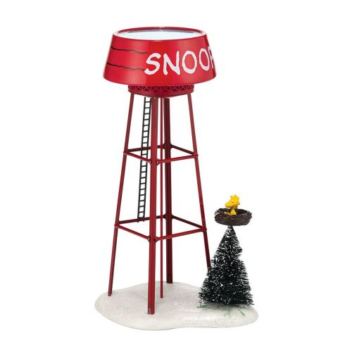 Department 56 Snoopy Water Tower